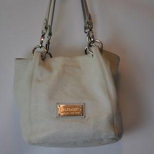 Valentine Shoulder Bag in Light Grey